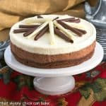Layered Mousse Cake #SundaySupper