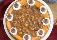 Deluxe Caramel Cheesecake #GalentinesDayParty