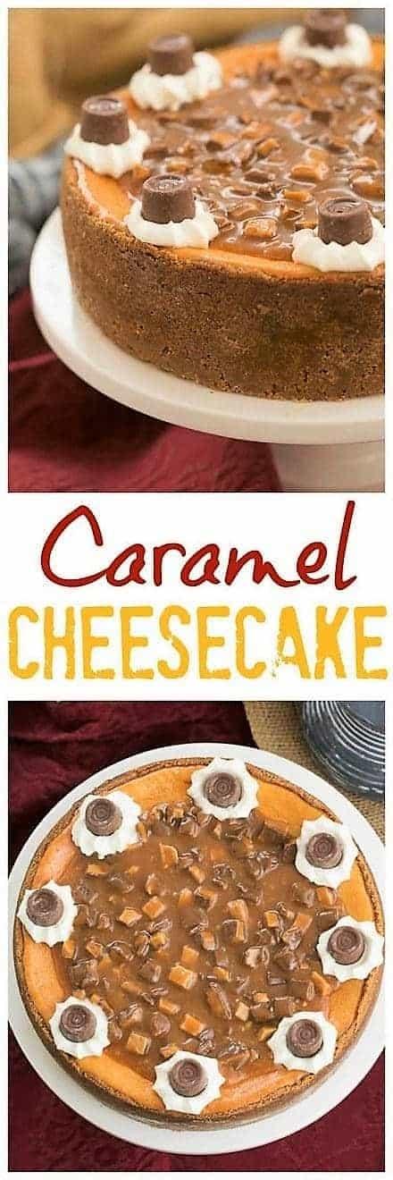 Caramel Cheesecake Pin