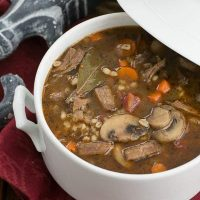 Homemade Beef Barley Soup | Worth the time and effort for this extraordinary soup!