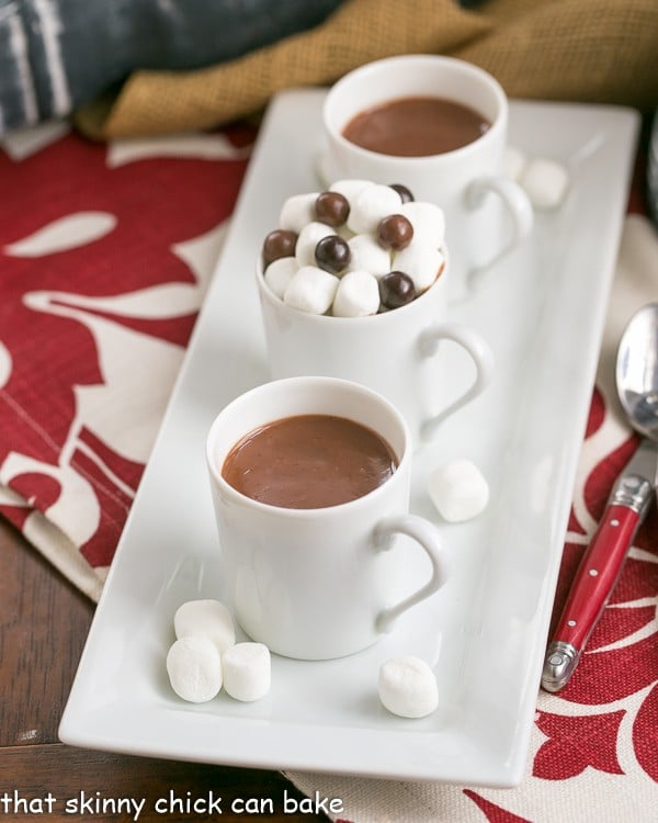 Luscious, thick Italian Hot Chocolate | This Cioccolata Calda is the BEST hot chocolate you'll ever make!