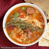 Chicken Jambalaya Soup featured image