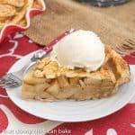 Leaf Topped Apple Pie #SundaySupper