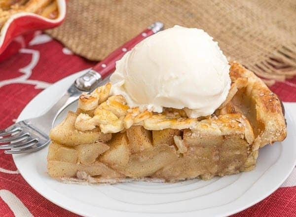 Leaf Topped Apple Pie - A scrumptious apple pie with a fun pastry topping