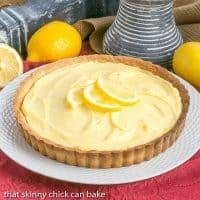 Creamy Lemon Tart | A French citrus tart that will dazzle every lemon lover!