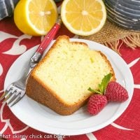 Greek Lemon Cake - A double dose of lemon plus Greek yogurt make for a lovely cake!