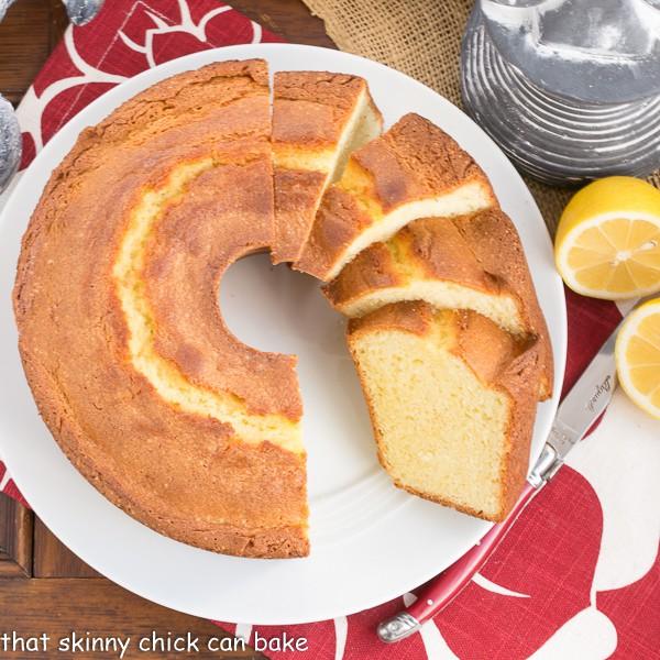 Greek Lemon Cake   A double dose of lemon plus Greek yogurt make for a lovely cake!