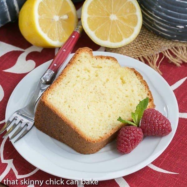 Greek Lemon Cake | A double dose of lemon plus Greek yogurt make for a lovely cake!