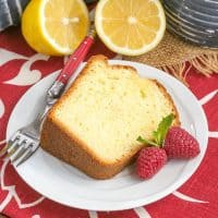 Greek Lemon Cake | A double dose of lemon plus Greek yogurt make for a lovely cake!