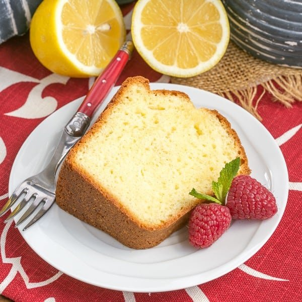 Greek Lemon Bundt Cake - A double dose of lemon plus Greek yogurt make for a lovely cake!