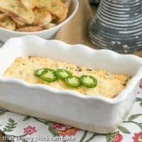Jalapeno Popper Dip | Cheesy, Spicy and Irresistible
