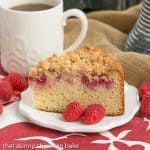 Raspberry Coffee Cake #BrunchWeek #Giveaway