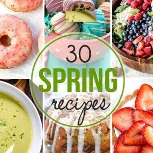 30 glorious spring recipes