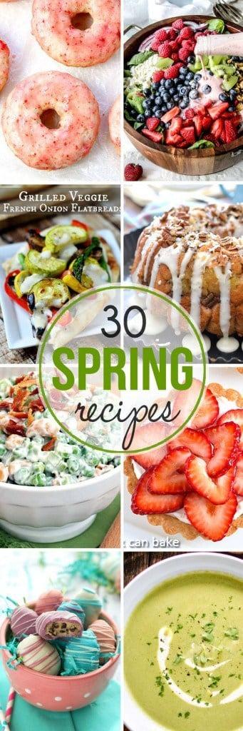 30 amazing spring recipes