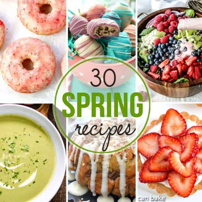 30 glorious spring recipes for Easter/seasonal inspiration