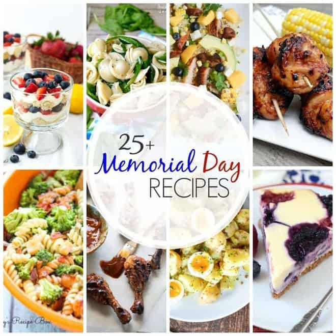 Memorial Day Recipes Collage