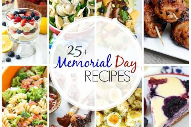 25+ Memorial Day Recipes   From patriotic holidays to picnics, there's plenty of menu inspiration!