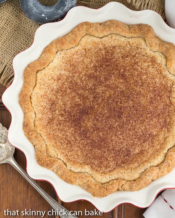 Sugar Cream Pie | A classic dessert in Indiana made with sugar, cream ...