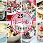 25+ No-Bake Dessert Recipes