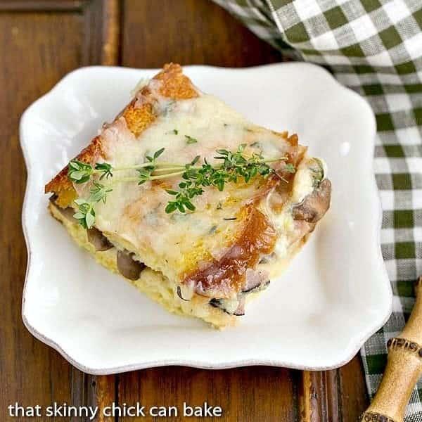Ham and Mushroom Strata