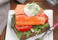 Open-Faced Salmon Sandwiches with Herb Cucumber Relish | This is one heck of a marvelous sandwich!!!
