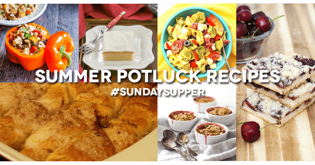 Summer Potluck Recipe Roundup