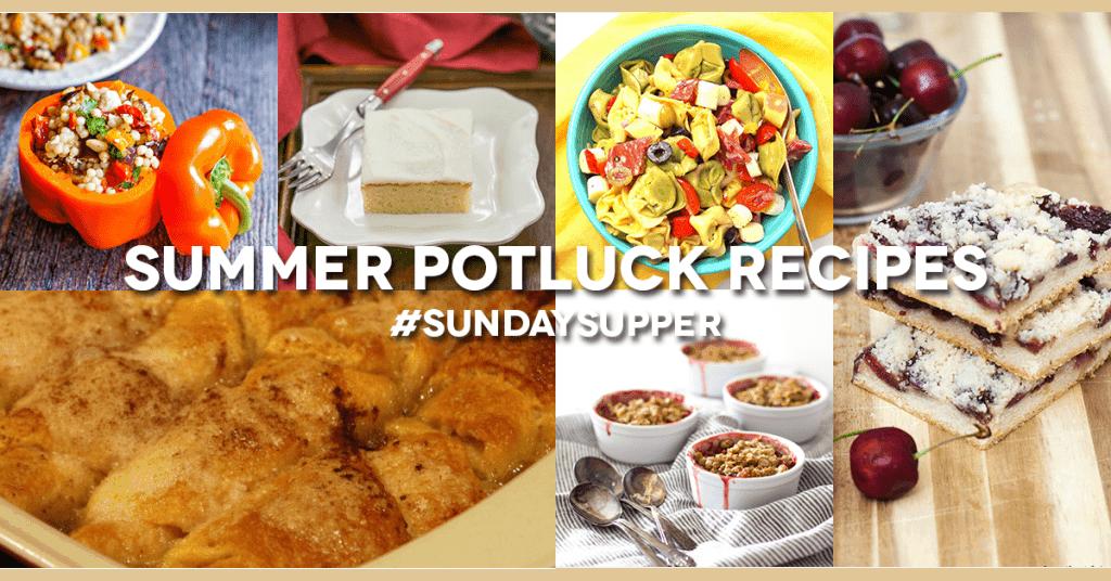 Summer Potluck Recipe Roundup