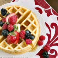 Buttermilk Waffles - A classic that's always a winner
