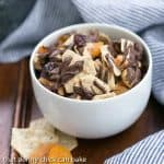 Cashew Chocolate Snack Mix with Apricots