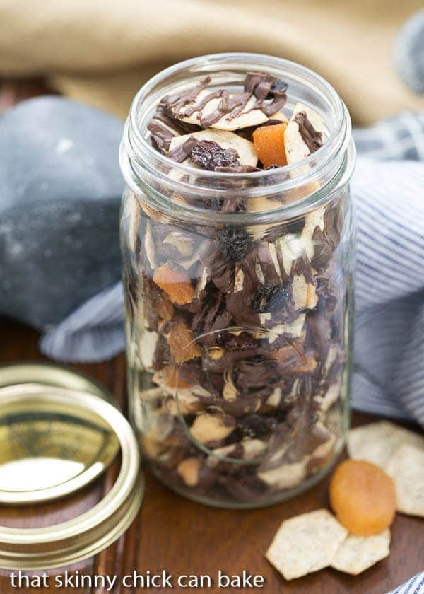 Chocolate Snack Mix | An irresistible munchie full of wholesome ingredients