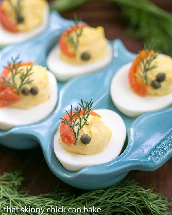 Deviled Eggs | Jazzed up deviled eggs plus tips for perfect hard boiled eggs