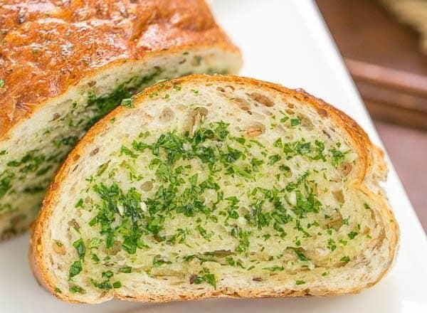 Herb Garlic Bread | A perfect addition to nearly any meal!