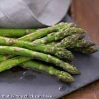 Roasted Asparagus with Balsamic Brown Butter featured image