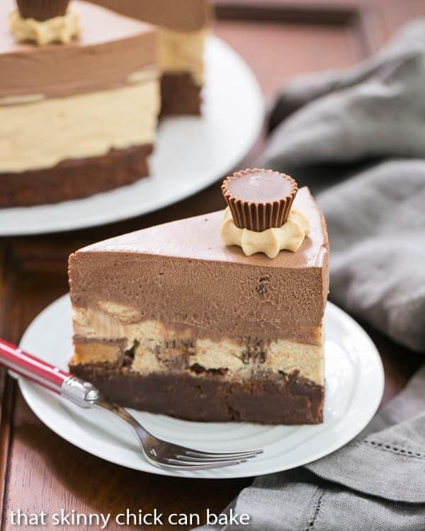 Peanut Butter Chocolate Mousse Cake #TwoSweetiePies - That ...