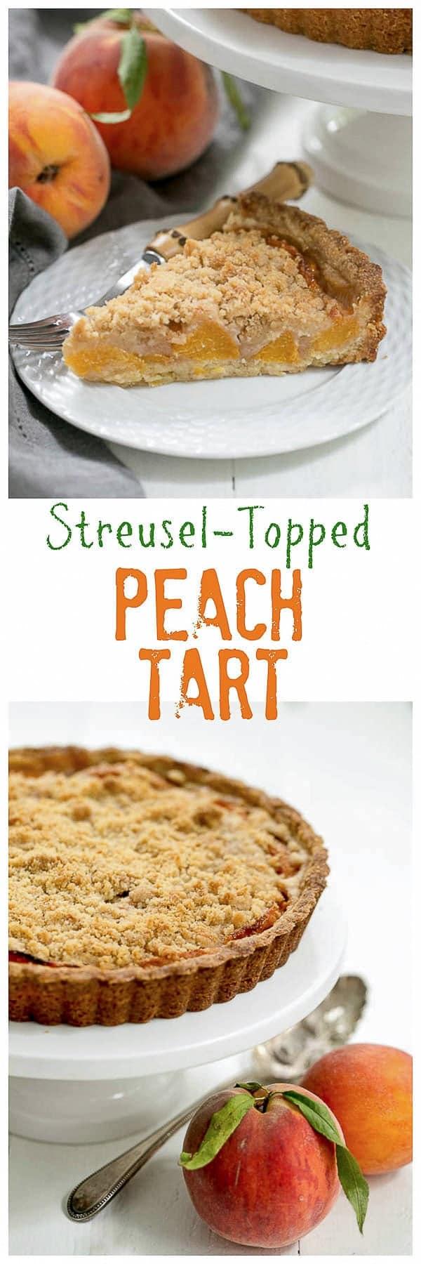 Peach tart pin
