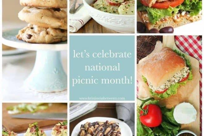 Picnic Month Collage | Picnic Recipes