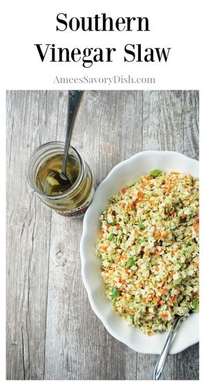 Southern Vinegar Slaw | Picnic Recipes