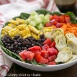 Summer Vegetable Salad #SundaySupper