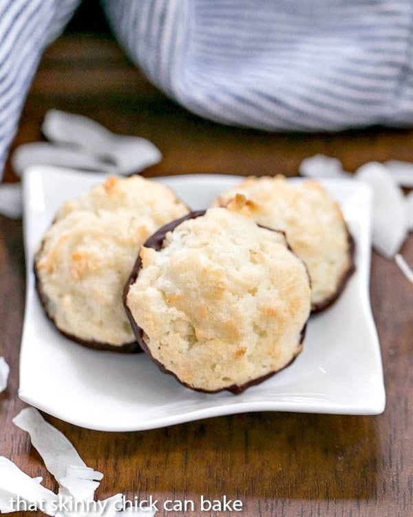 Coconut Macaroons | Light and scrumptious with a crisp exterior and chewy middles!