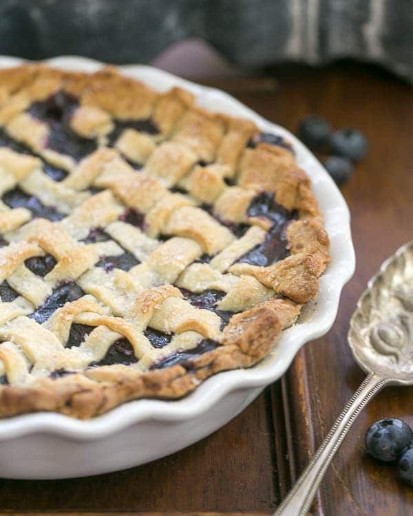 Freeze and Bake Blueberry Pie | Make an extra pie for the freezer and bake later!