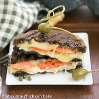 Smoked Salmon Reuben Sandwich | A fabulous seafood twist on the classic