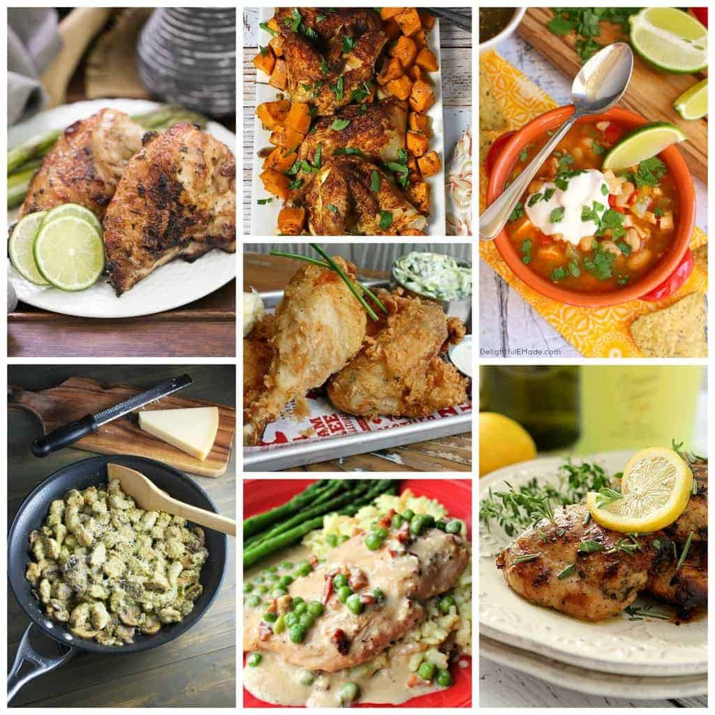 Favorite Chicken Recipes for #NationalChickenMonth