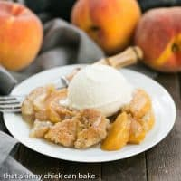 Peach Pudding   A self saucing peach dessert for a change from crisps and cobblers!