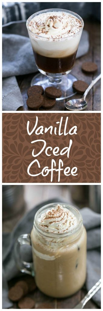 Vanilla Bean Iced Coffee | When you need a sweet indulgence to brighten your morning!
