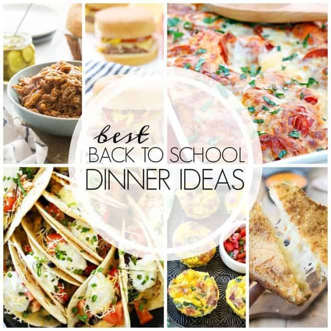 Easy Back to School Recipes