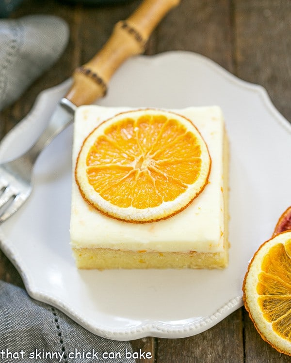 Orange Cake | An exquisite orange cake with cream cheese frosting
