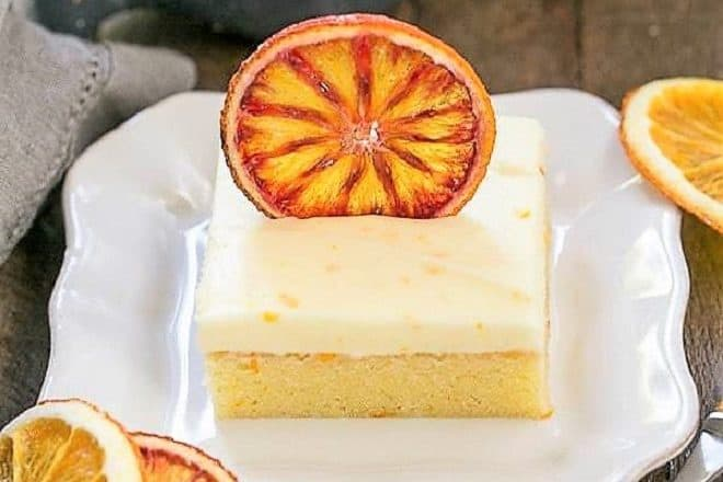 Cream Cheese Frosted Orange Cake