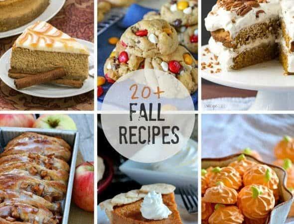20+ Best Fall Recipes | Blogger friends' favorite fall recipes!