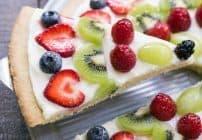 Fresh Fruit Pizza #SundaySupper