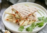 Spicy Pork Quesadillas #RealFlavorRealFast #ad